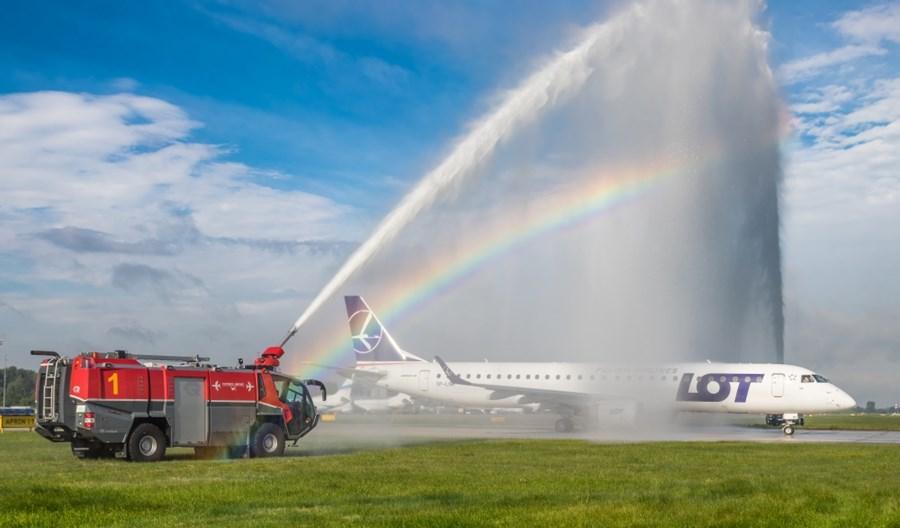 LOT startuje z Katowice Airport. Jest wakacyjna siatka połączeń