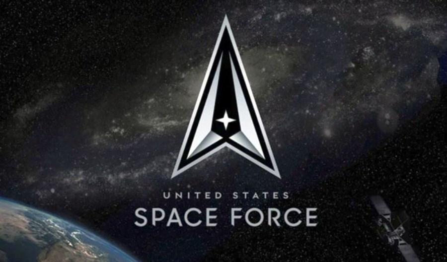 Siły Kosmiczne USA z oficjalnym logo i mottem