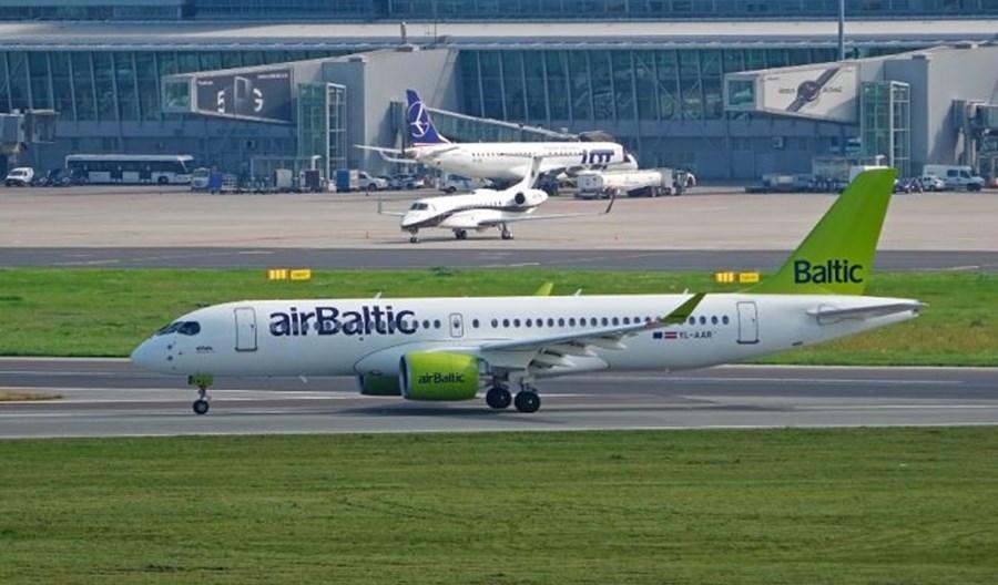 airBaltic zawiesił od 22 sierpnia trasę Ryga - Warszawa