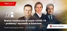 Branża turystyczna w czasie COVID-19 – problemy i wyzwania w lotnictwie (debata online)