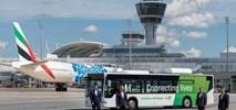 Lotnisko w Monachium testuje autobus napędzany biometanem