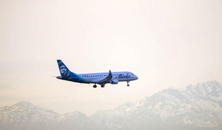 Alaska Airlines: E175 zamiast B737 na regionalnych trasach