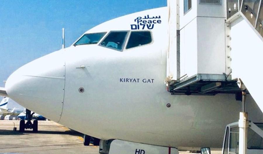 Historyczny rejs samolotu El Al z Tel Awiwu do Abu Zabi