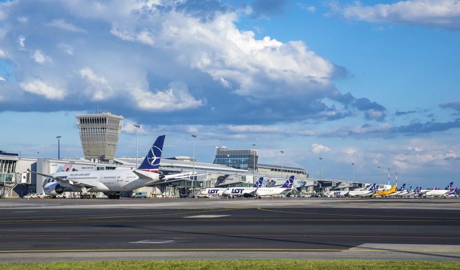Lotnisko Chopina: 66-proc. spadek pasażerów w sierpniu