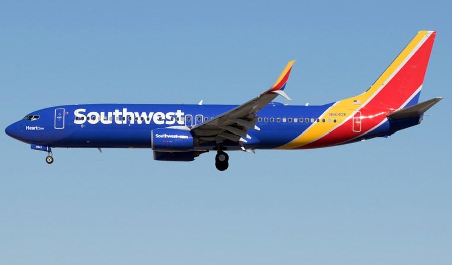 Siedem nowych tras Southwest Airlines z Florydy i Kalifornii
