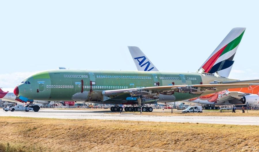 Zakończył się montaż końcowy ostatniego airbusa A380