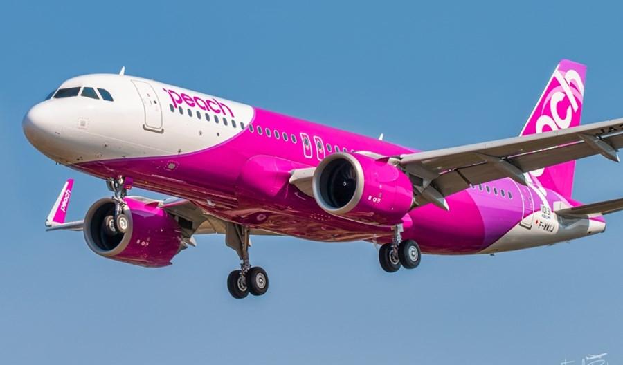 Peach Aviation odebrały pierwszego A320neo