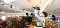 Asiana Airlines: Pierwsza konwersja kabiny A350 na cargo wg. biuletynu Airbusa zakończona