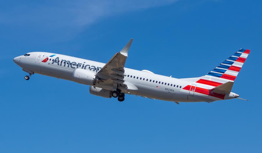 2,4 mld dol. kwartalnej straty American Airlines. Odroczone dostawy B737 MAX