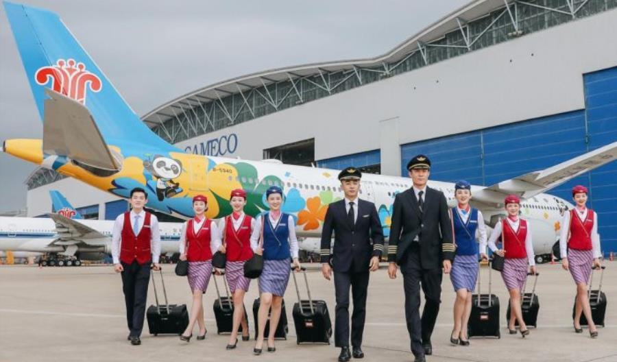 China Southern Airlines na plusie, Air China i China Eastern zmniejszają straty