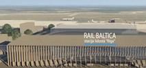 Stacja Rail Baltiki przy lotnisku w Rydze ze wszystkimi pozwoleniami