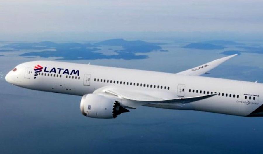 Grupa LATAM: Ponad 500 mln dolarów przychodów, duży wzrost cargo