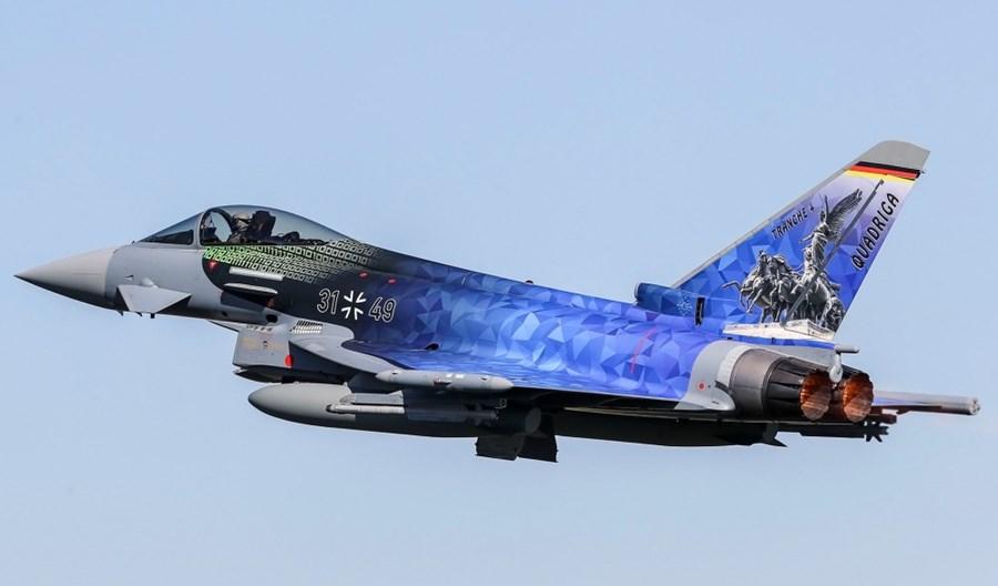 Airbus podpisał z Niemcami kontrakt na 38 samolotów Eurofighter