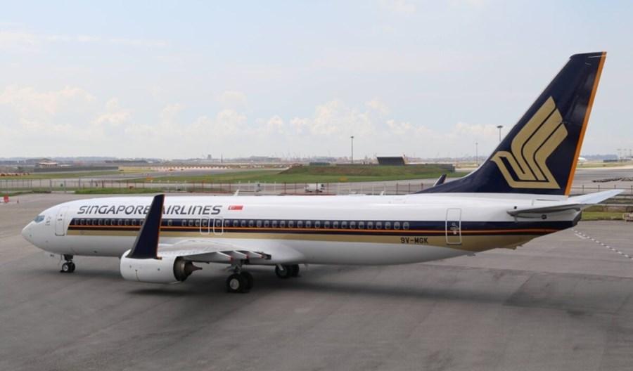 Singapore Airlines prezentują pierwszego we flocie Boeinga 737