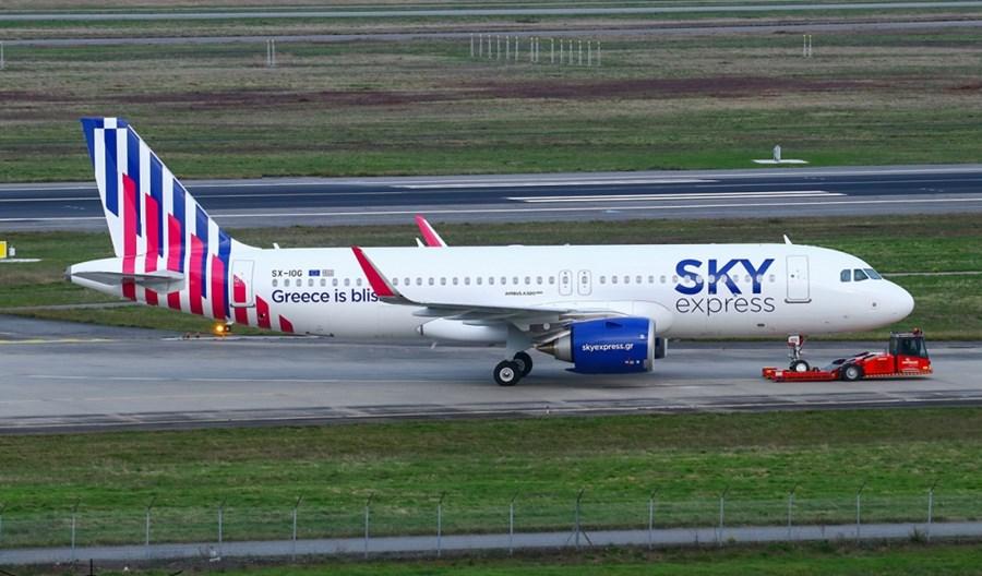 SKY express odebrały pierwszego A320neo