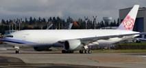 """""""Polityczne"""" malowanie samolotu? China Airlines odbierają pierwszego boeinga 777F"""