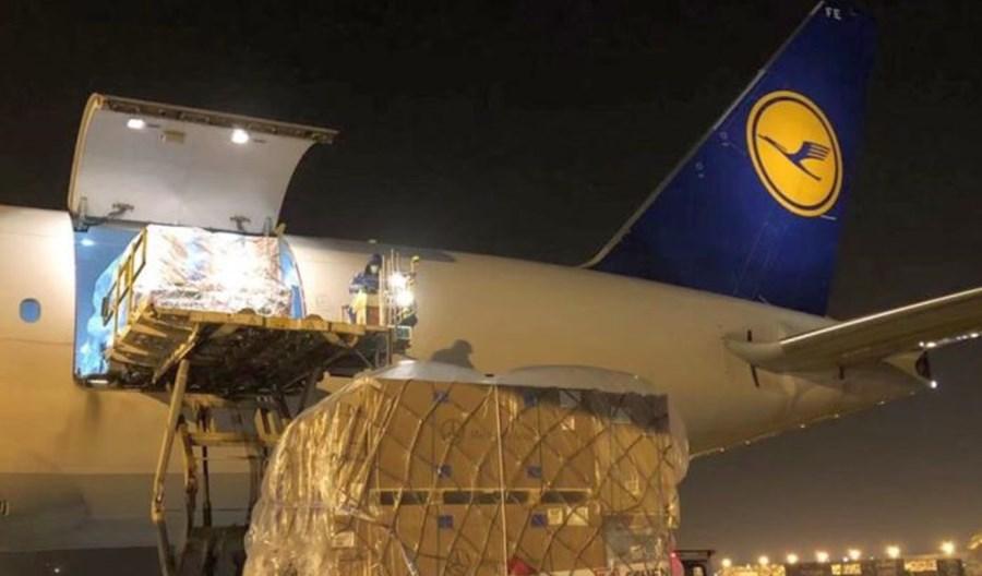 Sukces Lufthansa Cargo. B777F doleciał do Chin na zrównoważonym paliwie