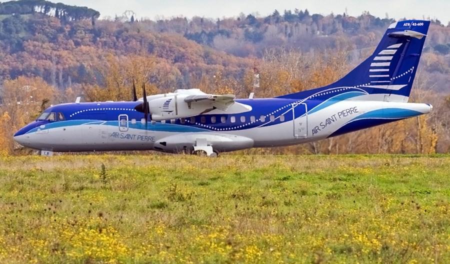 Air Saint Pierre odebrał pierwszego ATR-a 42-600