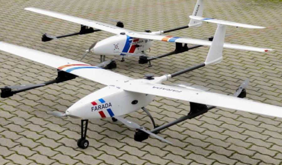 Drony Farady zakończyły testy dronostrad z rekordowymi wynikami