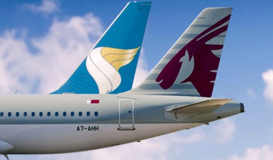 Qatar Airways zacieśniają współpracę z Oman Air. Lepszy dostęp do 65 połączeń