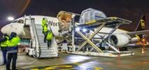 Lotnisko Chopina. UPS dostarczył 300 tys. szczepionek na COVID-19