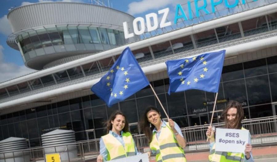 SkyUp dostały zgodę na trzy trasy z Łodzi. Inauguracja najwcześniej wiosną