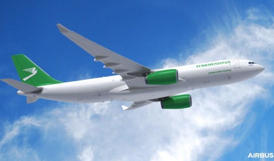 Turkmenistan Airlines zamówiły dwa airbusy A330-200P2F