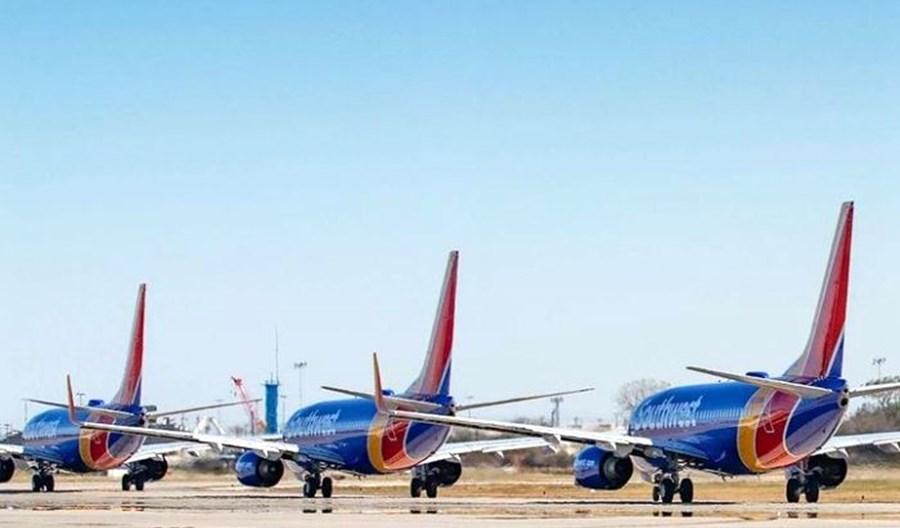 Pierwsza roczna strata Southwest Airlines od 50 lat. 11 marca powrót boeingów 737 MAX