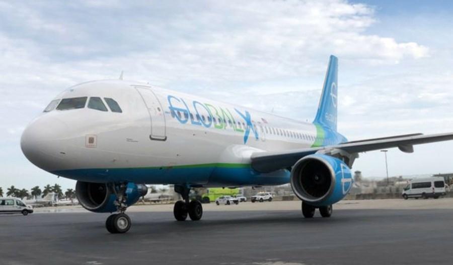 GlobalX Airlines odebrały pierwszego A320. Plany obejmują USA, Karaiby, Ekwador i Kanadę