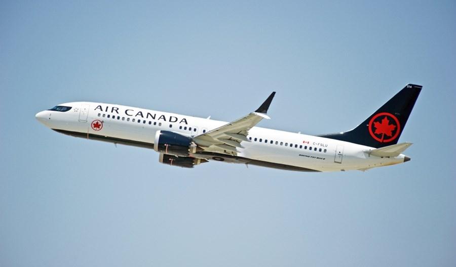 Boeingi 737 MAX wróciły do służby w Air Canada