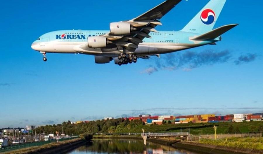 Korean Air straciły 74 proc. pasażerów. Duży wzrost cargo i zysk operacyjny