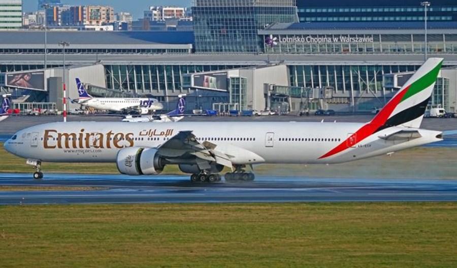 Emirates z codziennymi lotami na trasie Warszawa – Dubaj