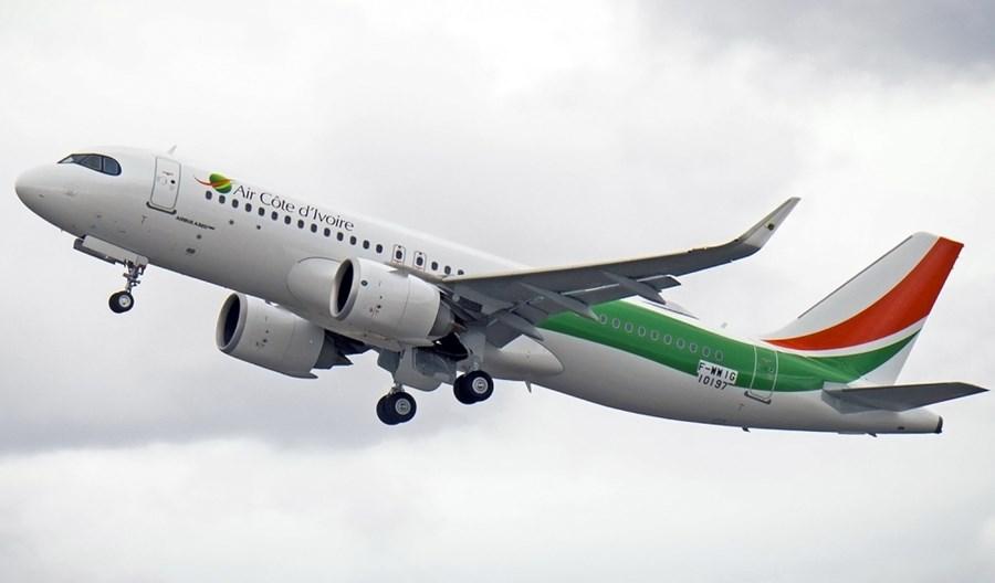 Linie Air Côte d'Ivoire odebrały pierwszego airbusa A320neo