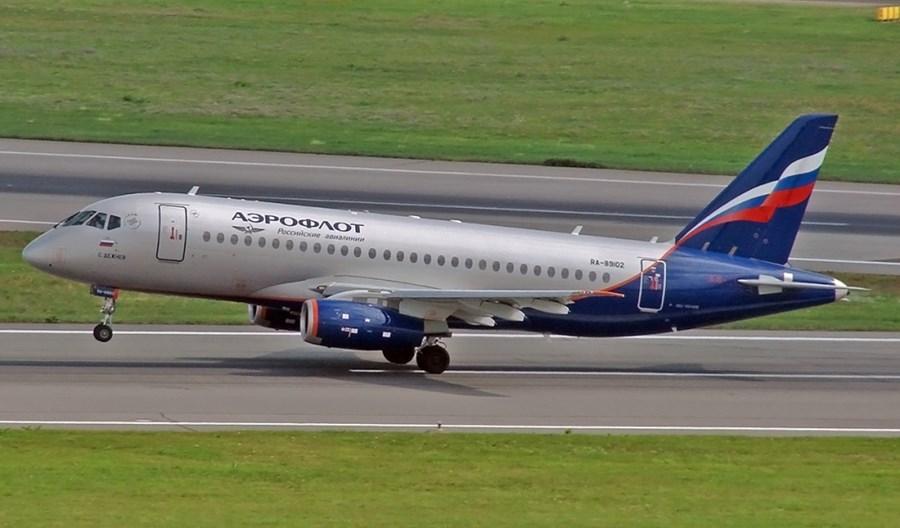 Aerofłot: Więcej rejsów do Warszawy. Powróci Suchoj SSJ100