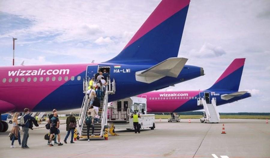833 tys. pasażerów Wizz Aira w maju. 66 proc. wypełnienia samolotów