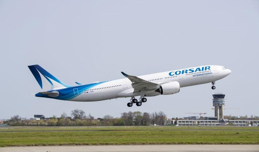Linie Corsair odbierają swój pierwszy samolot Airbus A330neo