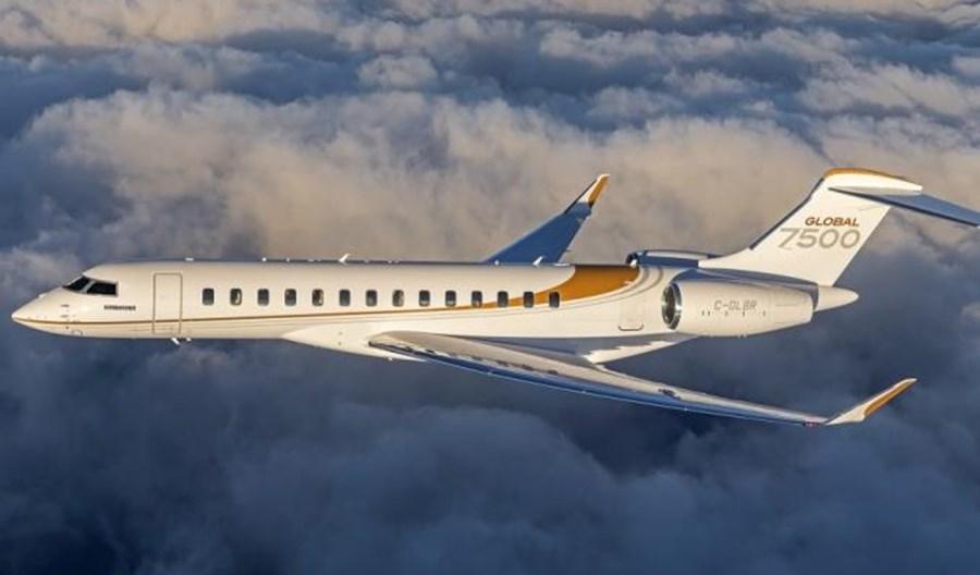 Bombardier dostarczył 50. odrzutowca biznesowego Global 7500