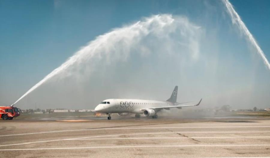 Inauguracja EGO Airways jedynym E190. Nowe linie obsługują Włochy