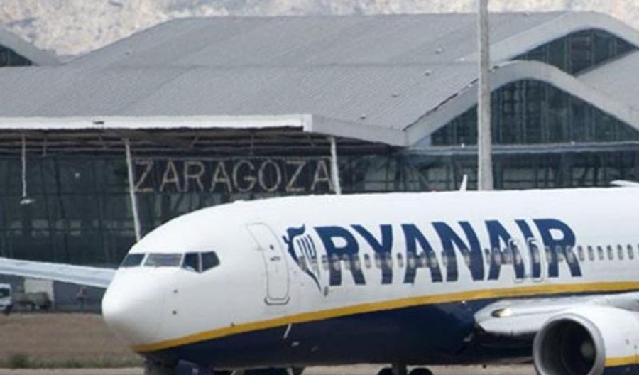 Majowa ofensywa Ryanaira z portu stolicy Aragonii