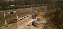 Koleją do lotniska Pyrzowice: Od kwietnia szerszy zakres prac