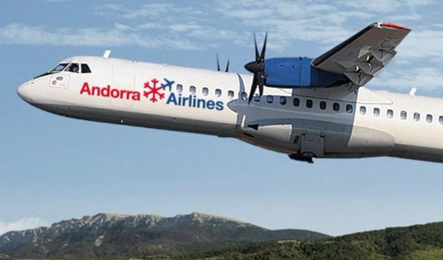 Pierwszy rejs Andorra Airlines. Jedyny ATR przewoźnika obsłuży dwie trasy
