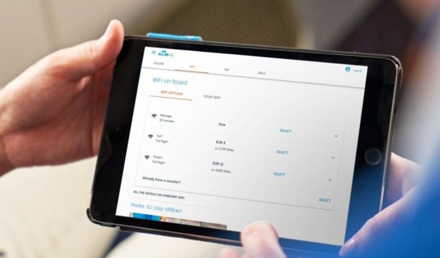 KLM wyposażą 18 boeingów 737-800 w internet do lotów po Europie
