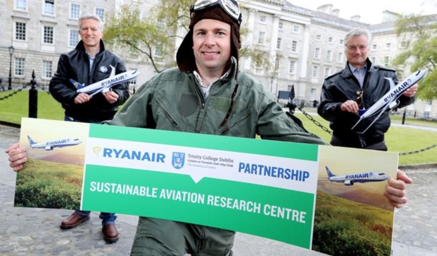 Powstało Centrum Badań Ryanair nad Zrównoważonym Lotnictwem