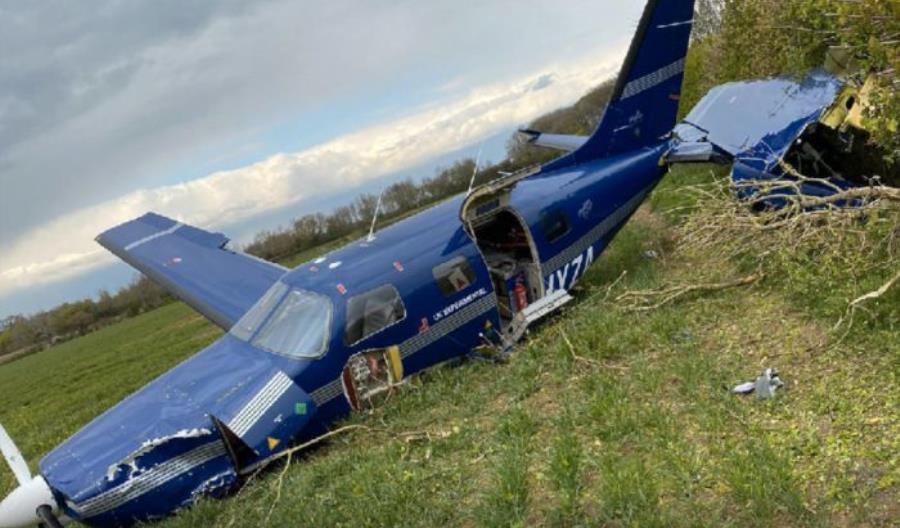 Samolot napędzany wodorem rozbił się w Anglii