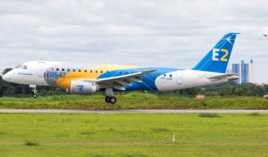 Embraer opóźnia o rok wejście do służby nowego E175-E2