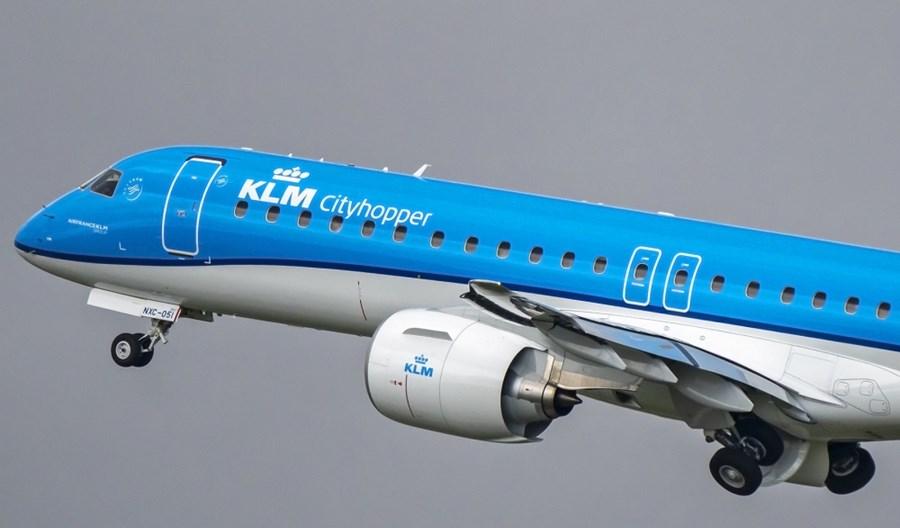 KLM Cityhopper odebrał czwartego E195-E2