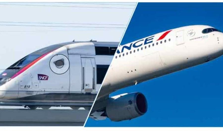 Samolotem lub TGV. Siedem nowych tras w ofercie Air France i SNCF