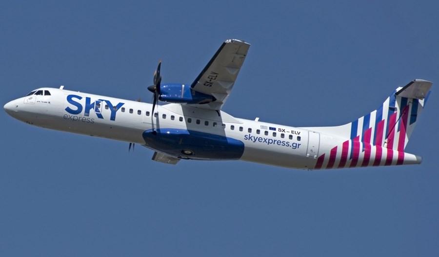 SKY express podpisały umowę zakupu sześciu ATR-ów 72-600