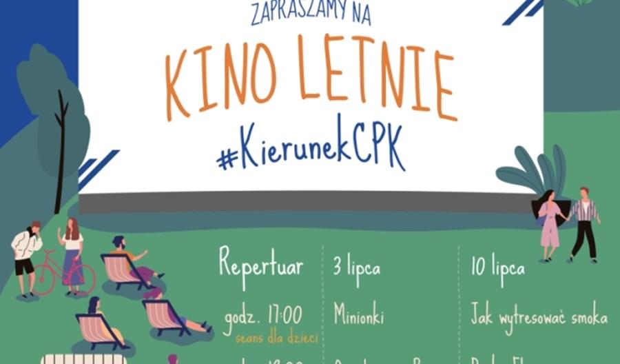 CPK uruchamia kino letnie dla mieszkańców Baranowa