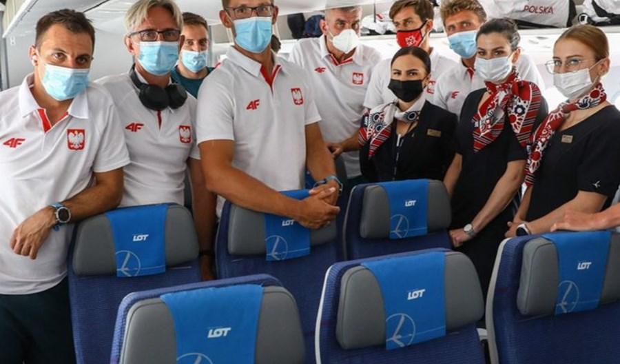 PLL LOT oficjalnym przewoźnikiem olimpijskiej kadry Polski w Tokio